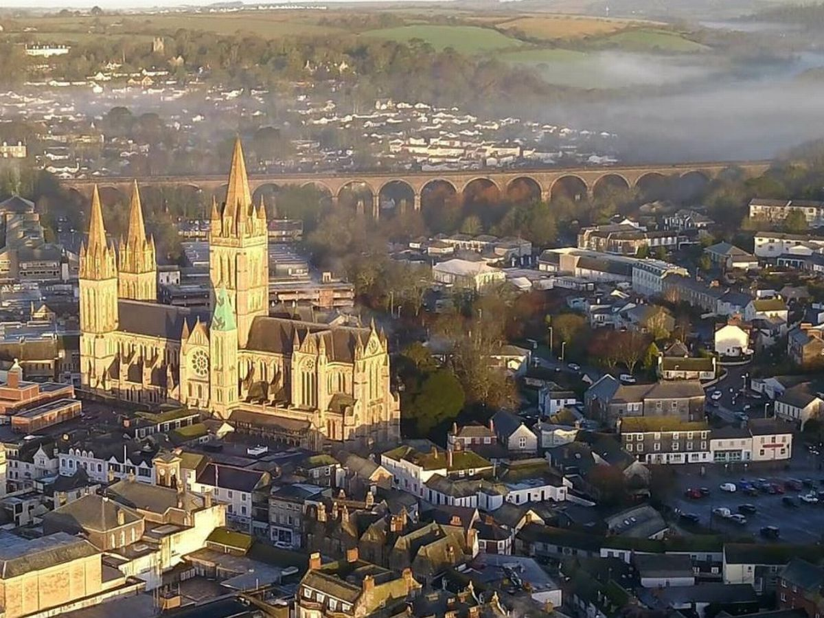 Truro Cathedral at sunriseJPG